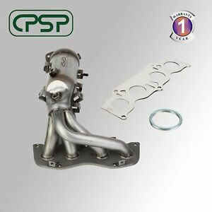 Exhaust Manifold With Catalytic Converter Fit 2002 2006 Toyota Camry Solara 2 4l