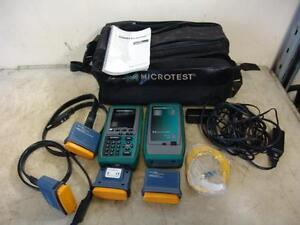 Fluke Microtest Omniscanner Cable Analyzer Tester Great Shape