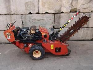 Ditch Witch Rt20 Walk Behind Trencher 20hp Honda Motor Works Great 2
