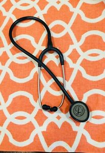 3m Littmann Lightweight Ii S e Stethoscope Black Tube 28 Inch