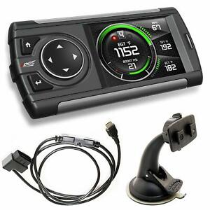 Edge Evolution Cs2 Diesel Tuner Monitor For Ford Chevy Dodge free Overnight