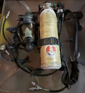 Survivair Panther Back Pack Scba Tank Super Pass Ii Twenty Twenty Plus Mask