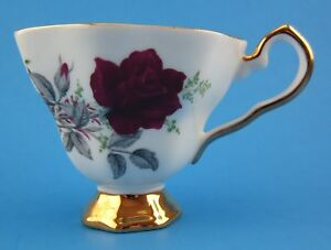 Vintage Royal Stafford Roses To Remember Bone China Cup Teacup England