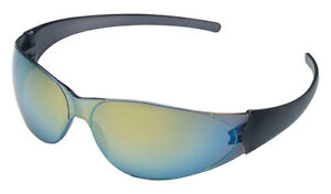 Crews Ck118 Checkmate Safety Glasses Rainbow Mirror Lens 12 Pair