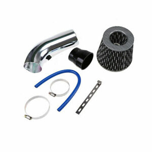 Car Air Flow Intake Vent Pipe Filter Cold Intake Filter System Pipe Durable Us