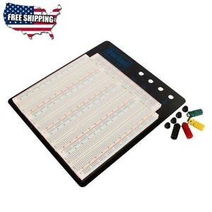 Solderless Breadboard Big size Black Aluminum Board Zy 208 For Test Circuit
