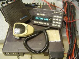 Motorola Syntor X9000 Uhf Radio 100w 450 470 Mhz Tested