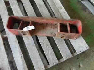 International Harvester Tractor 12 Hole Suitcase Weight Bracket Tag 148