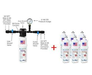 Single Filter Food Service ice Machine Water Filter System Additional 6 Pack