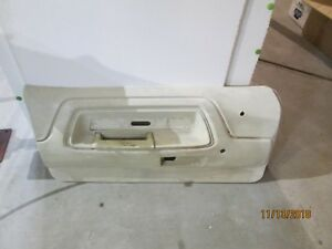 1970 1971 1974 Dodge Challenger White Interior Door Panel Oe Oem Lh
