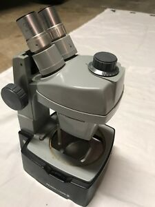 Used Bausch Lomb Stereo Zoom Microscope Head 0 7x 3x Adjustable Mount