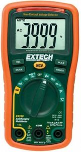 Manual Multimeter Compact Auto Ranging Built in Non contact Ac voltage Detector