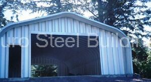Durospan Steel 20x36x16 Metal Garage Building Rv Boat Storage Factory Direct