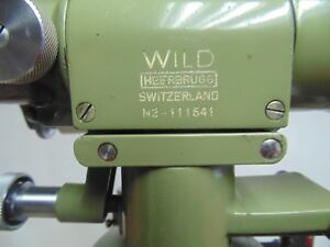 Level Wild Heerbrugg N2 Serial 111541 For Repair Or Parts