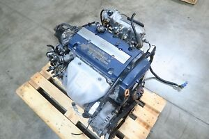 Jdm 98 02 Honda Accord Sir H23a 2 3l Dohc Vtec Engine Only 97 01 Prelude H22a4
