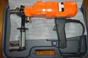 Diamond Products Weka Core Bore Hand held Drill Dk13 Made In Germany 3 speed