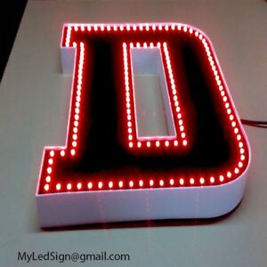 New Led Channel Letter 26 Waterproof Dust Proof Custom Made
