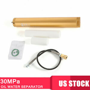 30mpa High Pressure Air Filter Oil water Separator Pump With 8mm Female Head Usa
