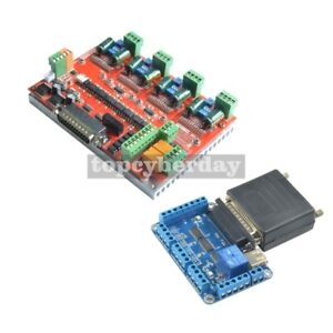 Nc200 6 Axis Usbmach3 Cnc Controller Board Card Nv8727t4 Stepper Motor Driver