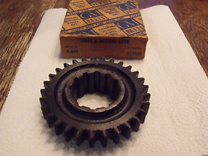 1933 36 Chevy 3 Speed Transmission First And Reverse Gear Nos Gm 472936