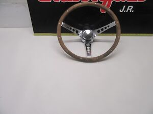 Vintage Superior 500 Steering Wheel Wheel Old School Hot Rod Muscle Car 15 5