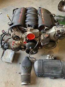 2000 Chevrolet Corvette Ls1 5 7 Liter Engine 345hp 167k With Warranty Used