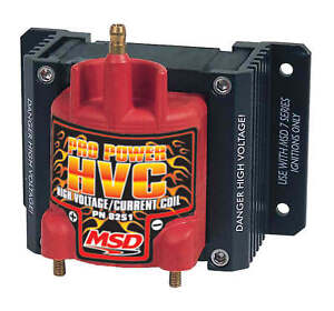 Msd 8251 Pro Power Hvc Coil Use W msd 7 8 Or 10 Series Ignition