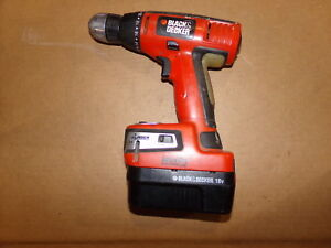 Black Decker Bdgl1800 Cordless Drill W Auto Leveling Laser Battery Hpb18