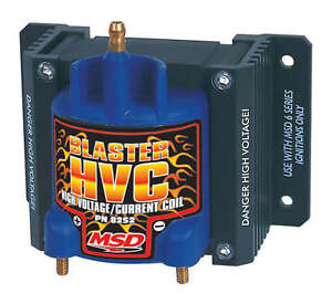 Msd 8252 Blaster Hvc For Road Course Or Circle Track Msd 6 Series Ignition