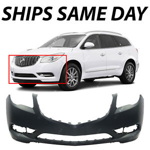 New Primered Front Bumper Cover Replacement For 2013 2017 Buick Enclave 13 17