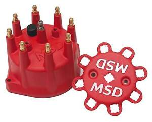 Msd 8431 Red Distributor Cap Red Cap Fits Pn 8570 Pn 8545 And Pn 8546