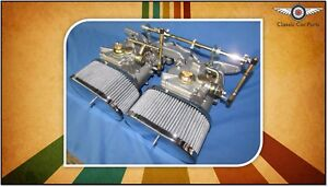 Ford 2l Pinto Escort Cortina Fajs Twin 45 Dcoe Weber Sidedraft Carburettor Kit