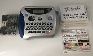 New Brother P touch Pt 1180 Electronic Labeling System Labeller Label Printer