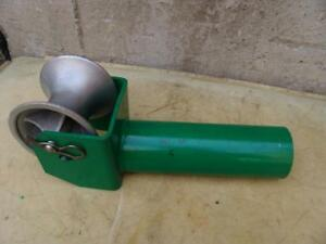 Greenlee 441 4 Cable Tugger Puller Feeding Sheave Great Shape 5
