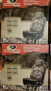 2 New Mossy Oak Break Up Country Low Back Neoprene Seat Covers Msc4419