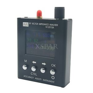 N1201sa Uv Rf Vector Impedance Ant Swr Antenna Analyzer Meter Tester X