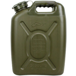 5gallon 20l Army Use Fuel Gas Storage Tank Can Container Pack For All terrain