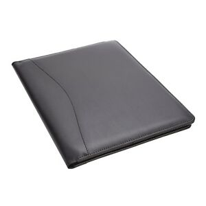 Leather Aristo Padfolio Matte Black By Royce Leather