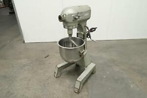 Hobart A200ft 20 Quart Dough Mixer Bowl With Bowl And Whisk Paddle T126754