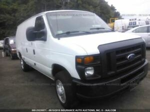 03 16 Ford E350 Van Console Front Floor Outer Section 387569