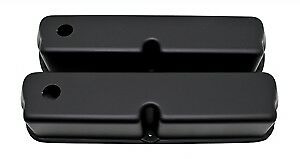 Aluminum 1962 85 Ford Sb 289 302 351w 5 0 Tall Valve Covers Smooth Matte Black