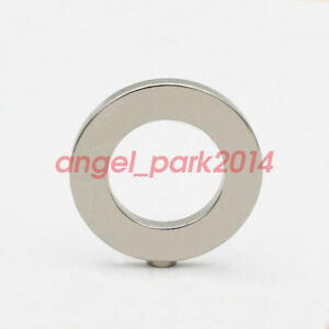40mm X 4mm Hole 24mm Ring Large Round Rare Earth Magnets N50 1 6 x0 16 X1