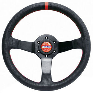 Sparco Champion Street Leather Steering Wheel 015tchmp