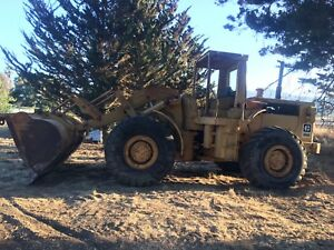 1978 Cat 966c Wheel Loader rebuilt Engine low Hours