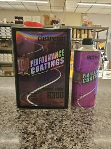 Automotive Clear Coat Fast Dry 2k Urethane 4 1 Gallon Kit Can Buff In 1 2 Hrs