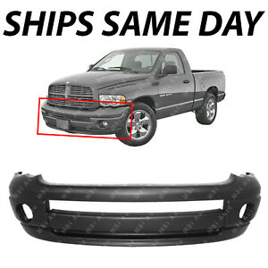New Primered Front Bumper Cover For 2002 2005 Dodge Ram 1500 2500 3500 W Sport