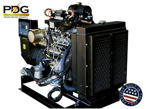 Isuzu 40 Kw Diesel Generator Epa Tier 4 Final For Mobile Or Stationary Use