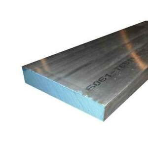 3 X 4 Aluminum 6061 Flat Bar 24 Long Solid T6511 Extruded Plate Mill Stock
