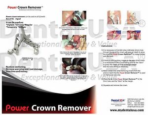Power Crown Removers By Dental Usa Imcr