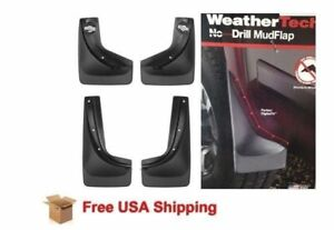 No drill Mudflaps For Toyota Tacoma 2016 2018 Front Rear Set